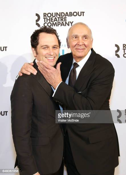 Frank Langella and Matthew Rhys attend the Roundabout Theatre Company's 2017 Spring Gala 'Act ii Setting the Stage for Roundabout's Future' at the...