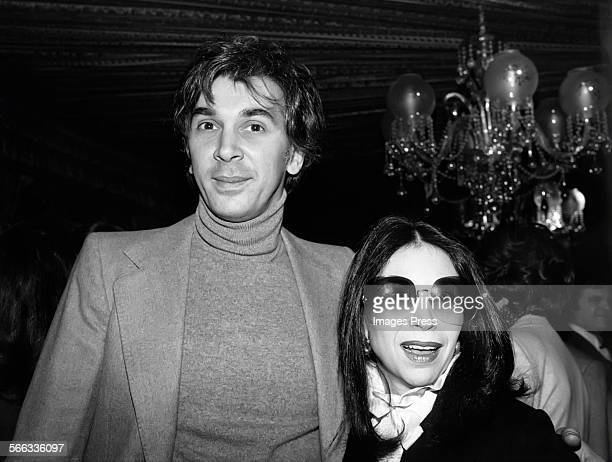 Frank Langella and wife Ruth circa 1979 in New York City