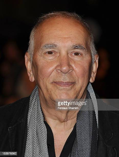 Frank Langella attends the Premiere of 'Robot And Frank' during the 56th BFI London Film Festival at Odeon West End on October 11 2012 in London...
