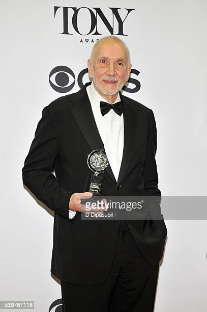 Frank Langella poses in the press room at the 70th Annual Tony Awards at the Beacon Theatre on June 12 2016 in New York City