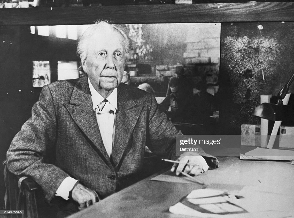 Frank Lloyd Wright Getty Images