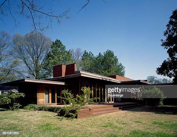 Frank Lloyd Wright designed house in Florence Alabama