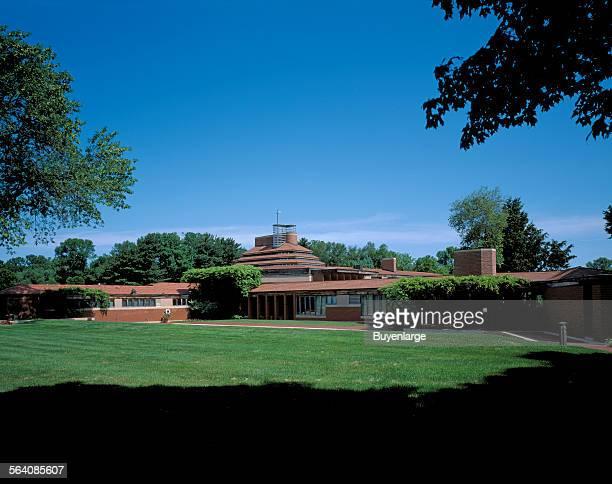 Frank Lloyd Wright designed house Wingspread in Racine Wisconsin