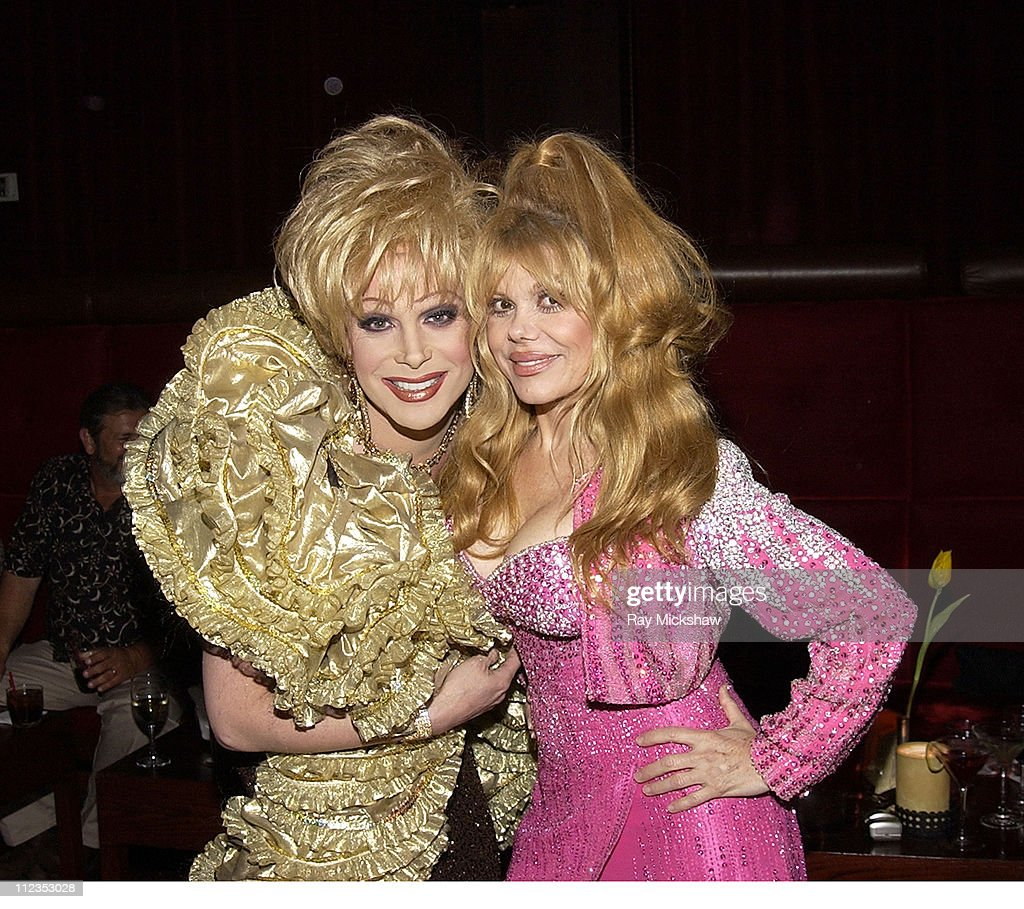 Frank Marino and <a gi-track='captionPersonalityLinkClicked' href=/galleries/search?phrase=Charo&family=editorial&specificpeople=242999 ng-click='$event.stopPropagation()'>Charo</a> during CineVegas Film Festival - Headliners Party - Inside at LIGHT night club at the Bellagio Hotel in Las Vegas, Nevada, United States.