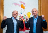 Frank Marshall and Richard Williams arrives at The Academy Of Motion Picture Arts And Sciences' Celebrates The Animated Genius Of Richard Williams at...