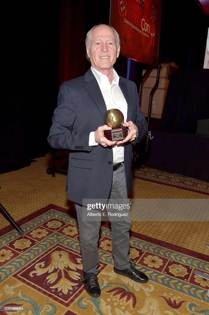 Frank Marshall recipient of the International Filmmaker of the Decade attends CinemaCon 2016 International Day Awards Luncheon and Filmmaker Spotlight at Caesars Palace during CinemaCon, the official convention of the National Association of Theatre Owners, on April 11, 2016 in Las Vegas, Nevada.