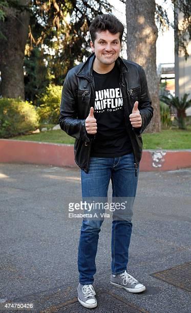 Frank Matano attends PREMIO TV 2015 Awards at RAI Dear Studios on May 25 2015 in Rome Italy