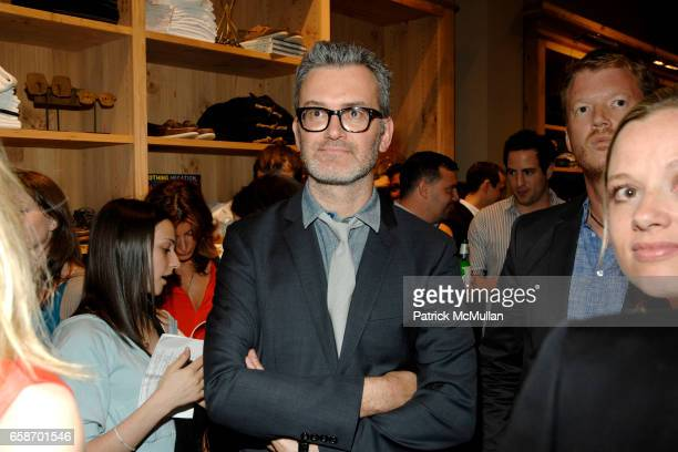 Frank Muytjens attends ACCOMPANIED LITERARY SOCIETY JCREW MEN'S SHOP Present THE MAD ONES at JCrew Men's Shop on June 1 2009 in New York