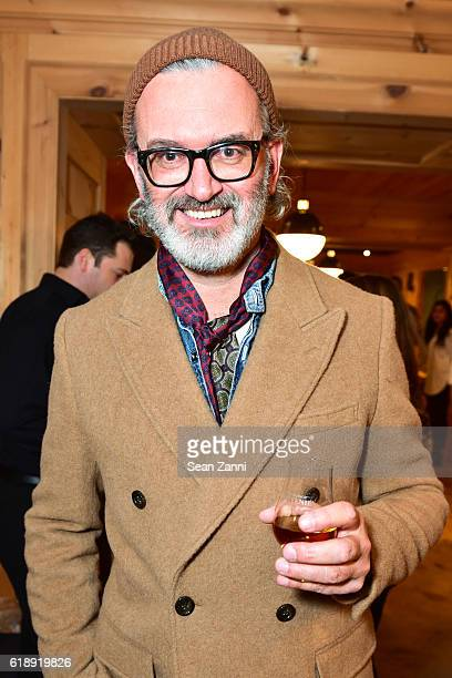 Frank Muytjens attends Frank Muytjens JCrew Celebrate David Coggins New Book 'Men and Style' at JCrew Men's Shop on October 27 2016 in New York City
