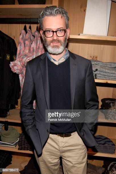 Frank Muytjens attends The MONOCLE Holiday Party at the J CREW Men's Shop at The J Crew Men's Shop on November 17 2009 in New York