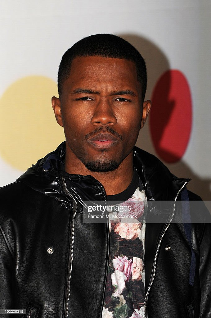 <a gi-track='captionPersonalityLinkClicked' href=/galleries/search?phrase=Frank+Ocean&family=editorial&specificpeople=7657747 ng-click='$event.stopPropagation()'>Frank Ocean</a> attends the Brit Awards 2013 at the 02 Arena on February 20, 2013 in London, England.