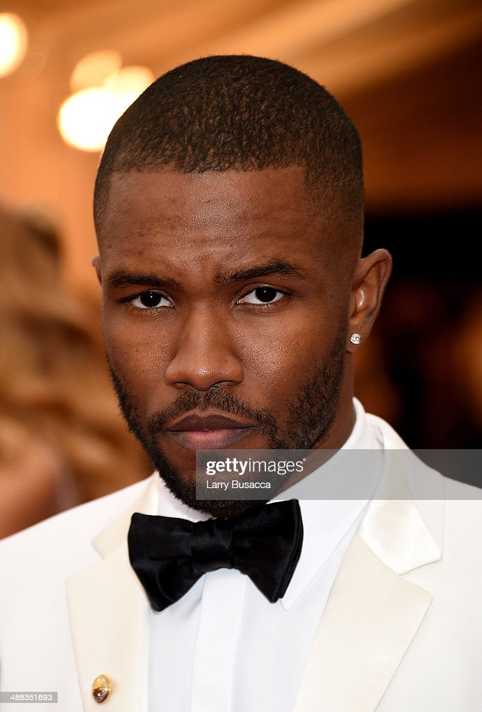 Frank Ocean attends the 'Charles James Beyond Fashion' Costume Institute Gala at the Metropolitan Museum of Art on May 5 2014 in New York City