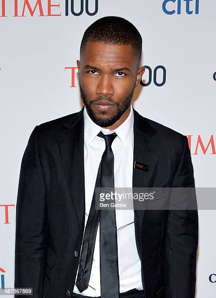 Frank Ocean attends the TIME 100 Gala TIME's 100 most influential people in the world at Jazz at Lincoln Center on April 29 2014 in New York City