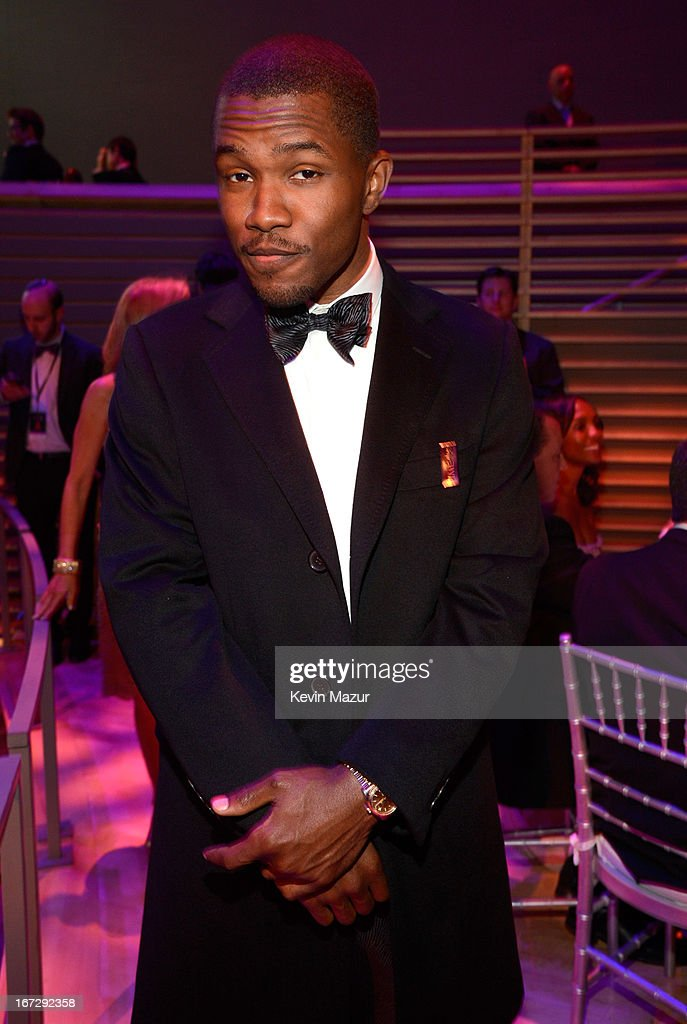 Frank Ocean attends TIME 100 Gala TIME'S 100 Most Influential People In The World at Jazz at Lincoln Center on April 23 2013 in New York City