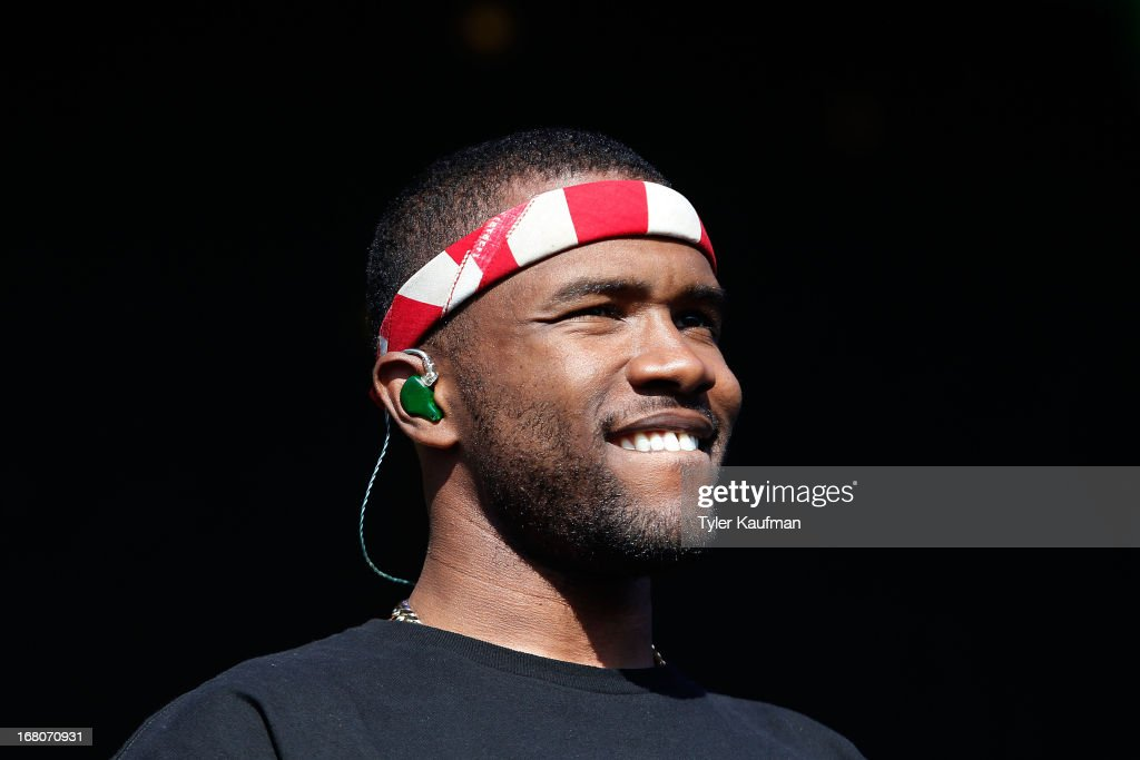 <a gi-track='captionPersonalityLinkClicked' href=/galleries/search?phrase=Frank+Ocean&family=editorial&specificpeople=7657747 ng-click='$event.stopPropagation()'>Frank Ocean</a> performs during the 2013 New Orleans Jazz & Heritage Music Festival at Fair Grounds Race Course on May 4, 2013 in New Orleans, Louisiana.