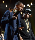 Frank Ocean speaks onstage during the 55th Annual GRAMMY Awards at STAPLES Center on February 10 2013 in Los Angeles California