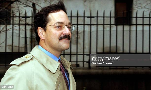 Frank Quattrone former Credit Suisse investment banker arrives at federal court for jury selection April 13 in New York City Quattrone is returning...