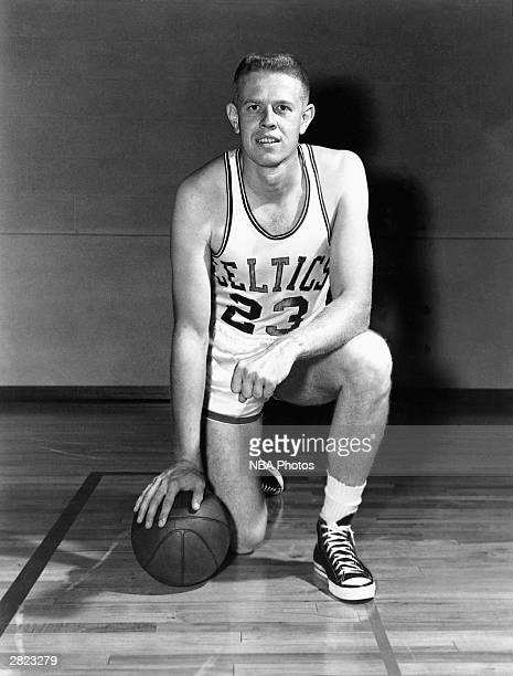 Frank Ramsey of the Boston Celtics poses for a portrait circa 1950's NOTE TO USER User expressly acknowledges and agrees that by downloading and or...