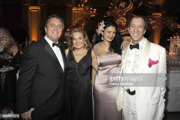 Frank Rella Michelle Rella Donna D'Cruz and Tom Silverman attend LARRY HERBERT 80TH Birthday Celebration at The Breakers Palm Beach on March 28 2009...