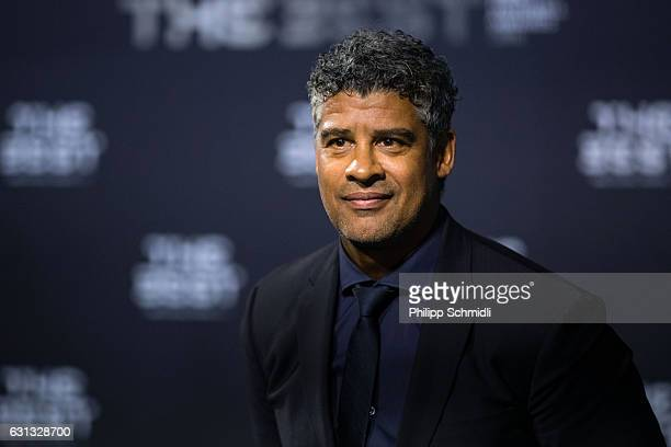 Frank Rijkaard arrives for The Best FIFA Football Awards 2016 on January 9 2017 in Zurich Switzerland