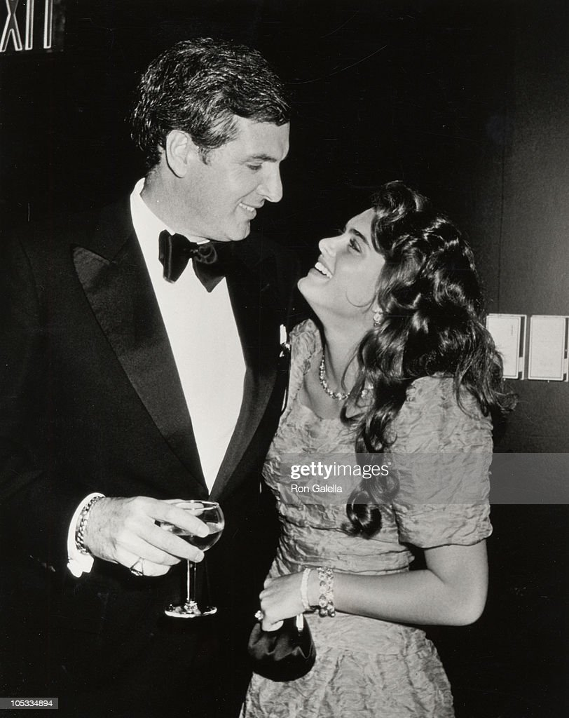 Frank Shields and Brook Shields during Brooke Shield's 21st Birthday Party - May 31, 1986 at Nishi Naho in New York City, New York, United States.