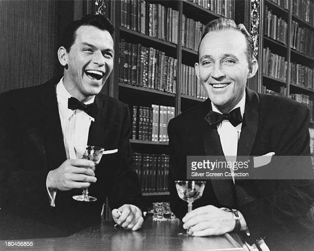 Frank Sinatra as Mike Connor and Bing Crosby as CK DexterHaven in 'High Society' directed by Charles Walters 1956