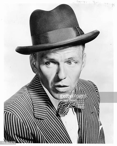 Frank Sinatra in publicity portrait for the film 'Guys And Dolls' 1955
