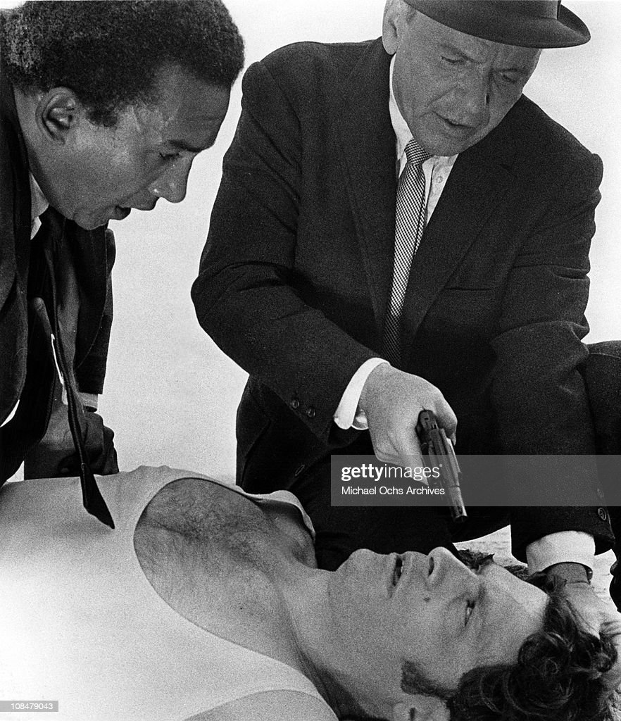 al man jr stock photos and pictures getty images frank sinatra portraying tough new york city detective joe leland holds a gun to the head ·