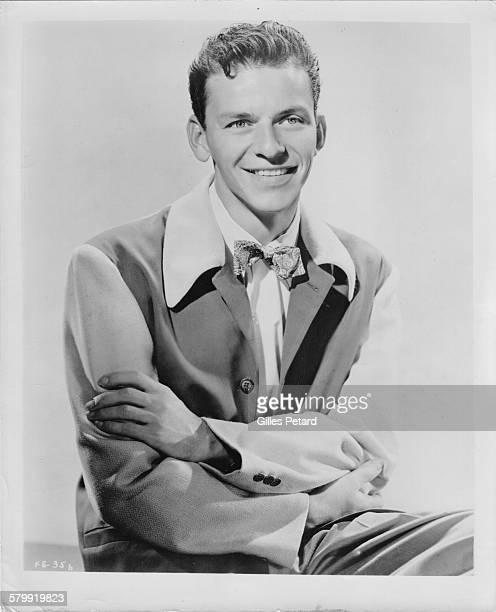 Frank Sinatra studio portrait United States 1940