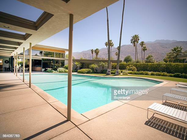Frank Sinatra Twin Palms Estate a spectacular example of midcentury architecture in the heart of Palm Springs California
