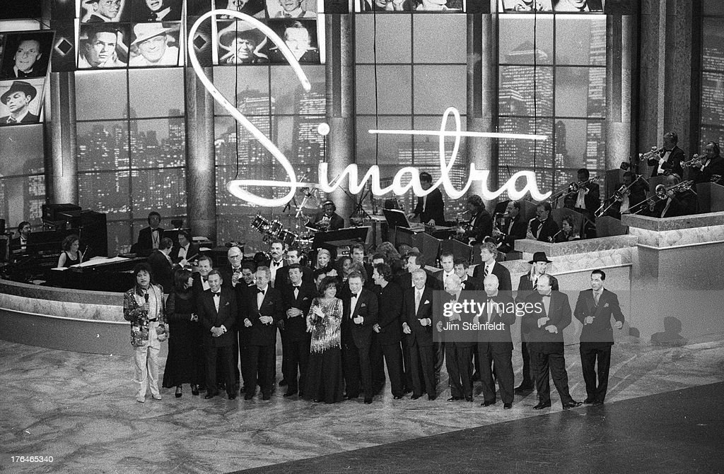 Frank Sinatra's 80th Birthday at the Shrine Auditorium in Los Angeles California on November 19 1995