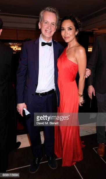 Frank Skinner and Myleene Klass attend the English National Opera Spring Gala 2017 at Rosewood London on March 27 2017 in London England