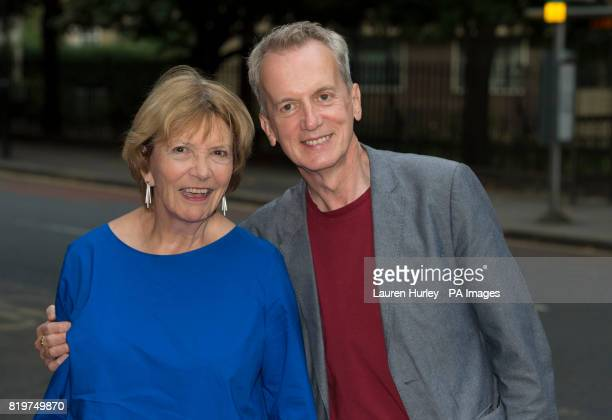 Frank Skinner attending the opening night of Sadleracircs Wells summer tango spectacular Tanguera in London