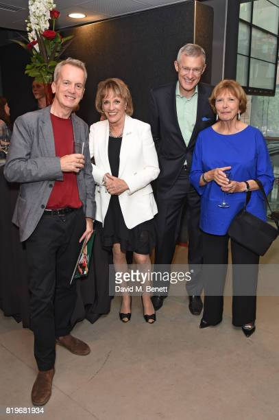 Frank Skinner Esther Rantzen Jeremy Vine and Joan Bakewell attend the press night performance of 'Tanguera' at Sadler's Wells Theatre on July 20 2017...