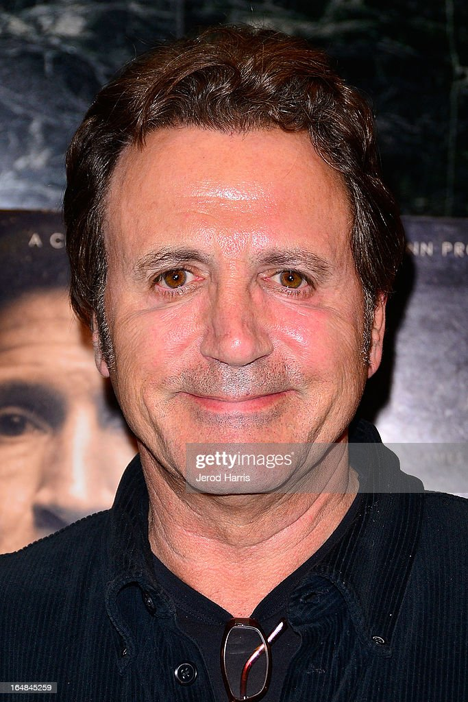 Frank Stallone arrives at the Los Angeles premiere of 'The Good Son' at Linwood Dunn Theater at the Pickford Center for Motion Study on March 28, 2013 in Hollywood, California.