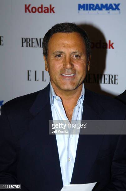 Frank Stallone during 2005 Miramax PreOscar Party at Pacific Design Center in Los Angles California United States