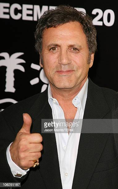 Frank Stallone during 'Rocky Balboa' World Premiere Arrivals at Chinese Theatre in Hollywood California United States