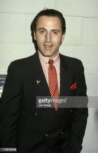 Frank Stallone during St Patrick's Day Brunch at Jimmy's Restaurant March 17 1986 at Jimmy's Restaurant in Beverly Hills California United States