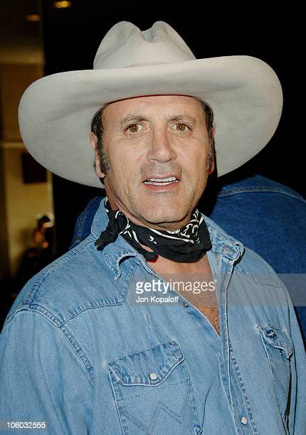 Frank Stallone during The Motion Picture and Television Fund's 24th Golden Boot Awards Arrivals at The Beverly Hilton Hotel in Beverly Hills...