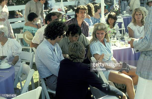 Frank Stallone Sylvester Stallone And Wife Sasha Czack Stallone