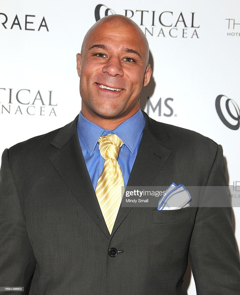 Frank Trigg attends the Optical Panacea Launch Party at HERAEA at the Palms Casino Resort on May 24, 2013 in Las Vegas, Nevada.