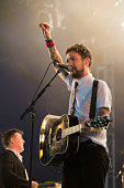 Frank Turner and the sleeping souls perform at T In the Park at Strathallan Castle on July 10 2016 in Perth Scotland