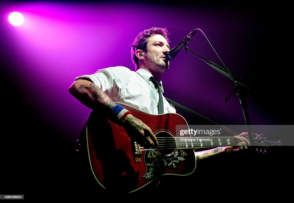 Frank Turner performs at Manchester Academy on November 23 2015 in Manchester England