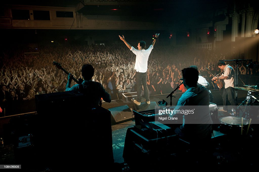 Frank Turner performs at the o2 Academy Brixton on December 12 2010 in London England