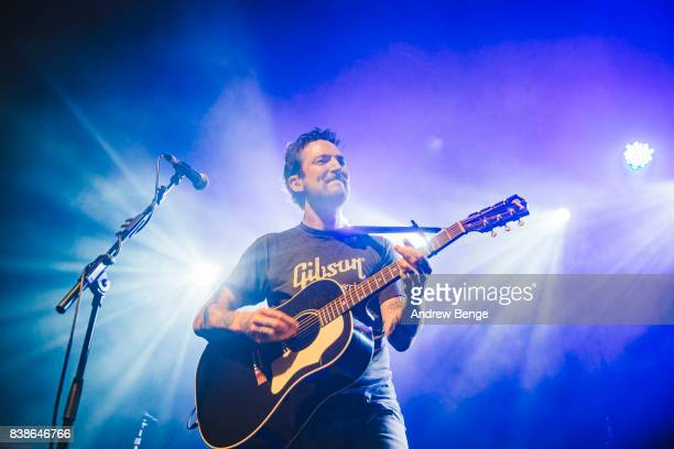 Frank Turner performs at The O2 Ritz Manchester on August 24 2017 in Manchester England