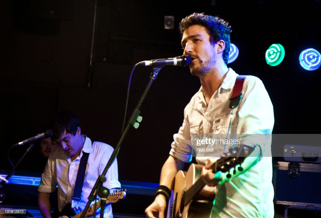 Frank Turner performs at The Old Fire Station on February 21 2011 in Bournemouth England
