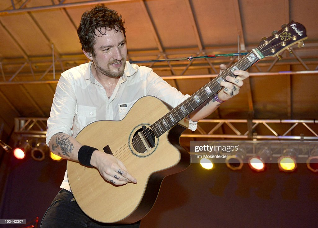 Frank Turner performs at the Palmer Events Center as part of the SXSW Gaming Expo on March 9 2013 in Austin Texas