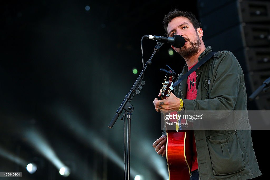Frank Turner performs during the Jaguar Land Rover Invictus Games Closing Ceremony at the South Lawn of Queen Elizabeth Olympic Park on September 14...