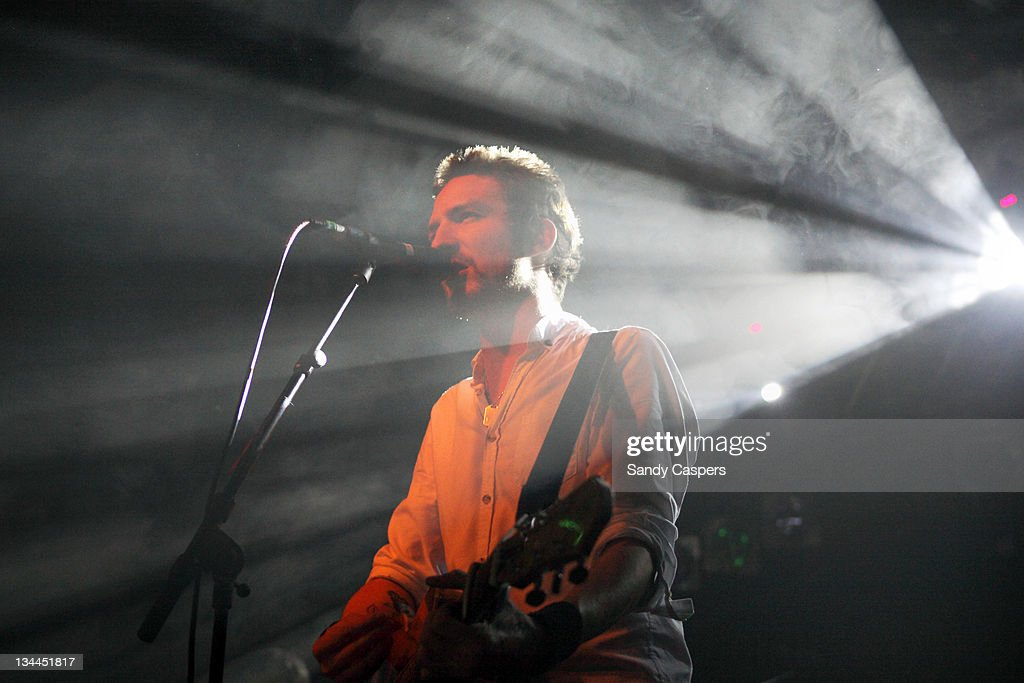 Frank Turner performs on stage at Backstage on December 1 2011 in Munich Germany