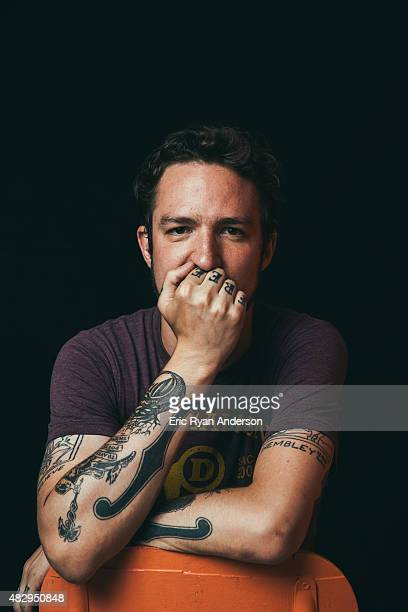 Frank Turner poses for a portrait for Billboard Magazine on June 6 2014 in New York City